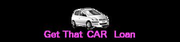 get that car loan